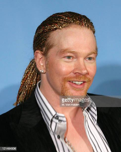 Axl Rose presenter during 2006 MTV Video Music Awards Press Room at Radio City Music Hall in New York City New York United States