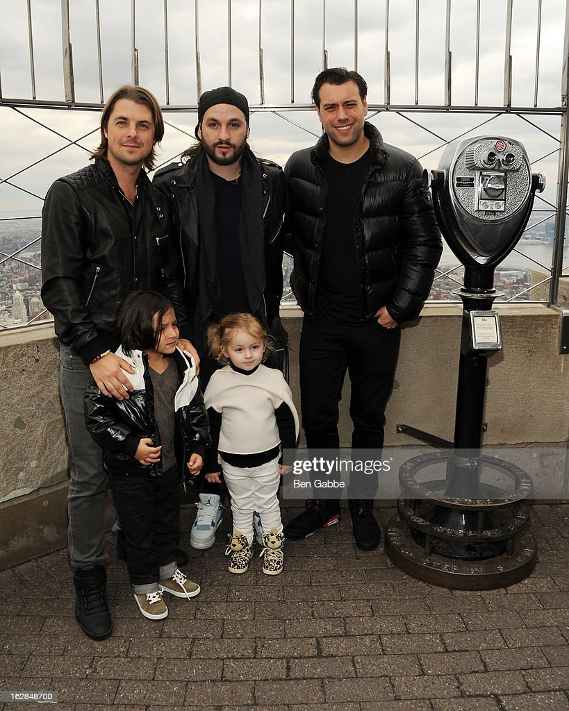 <a gi-track='captionPersonalityLinkClicked' href=/galleries/search?phrase=Axwell&family=editorial&specificpeople=5989822 ng-click='$event.stopPropagation()'>Axwell</a>, <a gi-track='captionPersonalityLinkClicked' href=/galleries/search?phrase=Steve+Angello&family=editorial&specificpeople=5737645 ng-click='$event.stopPropagation()'>Steve Angello</a> and Sebastian Ingrosso of the Swedish House Mafia pose with children at the lighting of The Empire State Building on February 28, 2013 in New York City.
