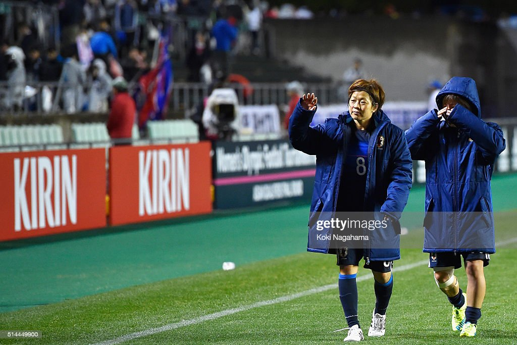 Japan v North Korea - AFC Women's Olympic Final Qualification Round