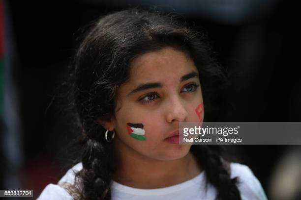 Ayah Adwan joins thousands of protestors taking to the streets of Dublin to express their opposition to the ongoing military action in Gaza