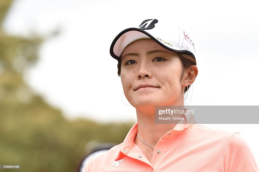<a gi-track='captionPersonalityLinkClicked' href=/galleries/search?phrase=Ayaka+Watanabe&family=editorial&specificpeople=12647523 ng-click='$event.stopPropagation()'>Ayaka Watanabe</a> of Japan looks on during the second round of the World Ladies Championship Salonpas Cup at the Ibaraki Golf Club on May 6, 2016 in Tsukubamirai, Japan.