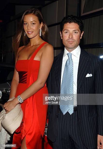 Ayako Kawahara and Matteo Marzotto CEO of Valentino