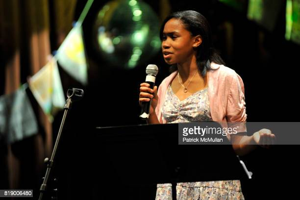 Ayana attends The East Harlem School presents 2010 Spring Poetry Slam at Highline Ballroom on May 4 2010 in New York City