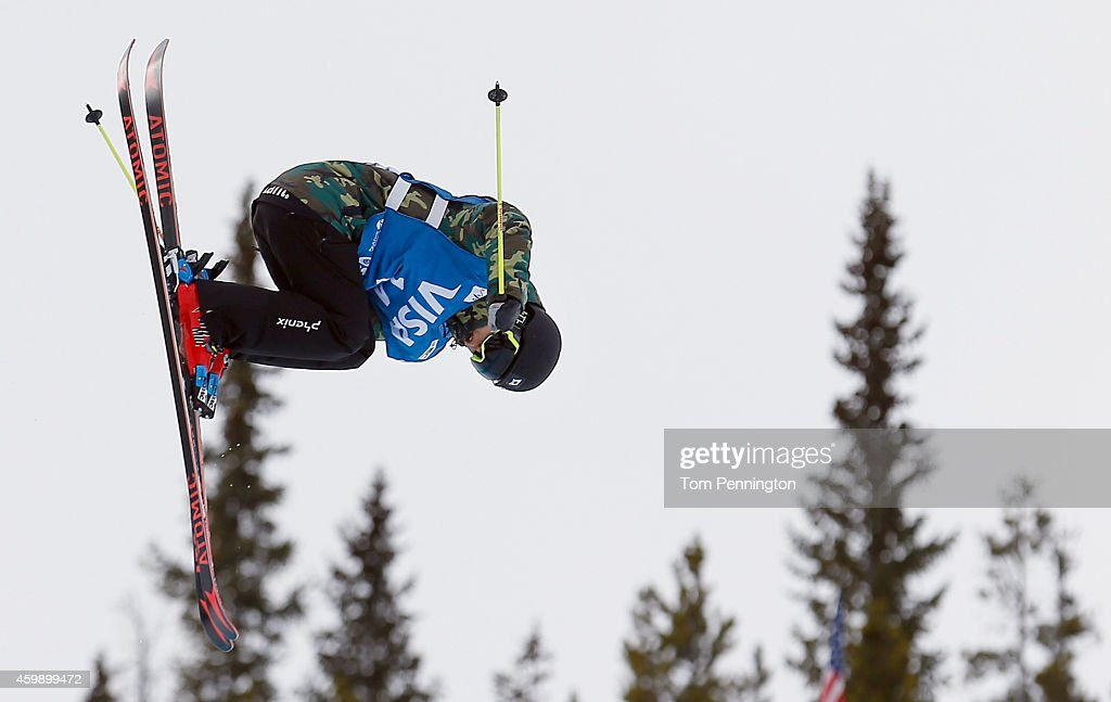 <a gi-track='captionPersonalityLinkClicked' href=/galleries/search?phrase=Ayana+Onozuka&family=editorial&specificpeople=9028067 ng-click='$event.stopPropagation()'>Ayana Onozuka</a> of Japan competes in the qualifying round of the FIS Freestyle Ski World Cup 2015 ladies ski halfpipe during the USSA Grand Prix on December 3, 2014 in Copper Mountain, Colorado.