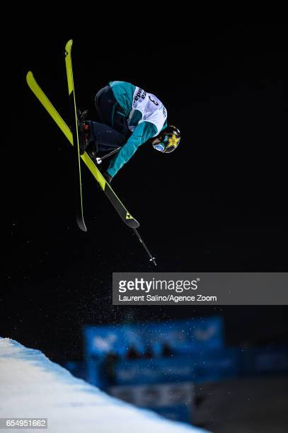Ayana Onozuka of Japan wins the gold medal during the FIS Freestyle Ski Snowboard World Championships Halfpipe on March 18 2017 in Sierra Nevada Spain