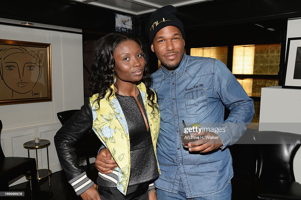 Ayanna Wilkes and Jason Rembert attend the Casadei dinner at Omar's, hosted by Julia Restoin Roitfeld and Cesare Casadei celebrating Resort 2014 at on June 5, 2013 in New York City