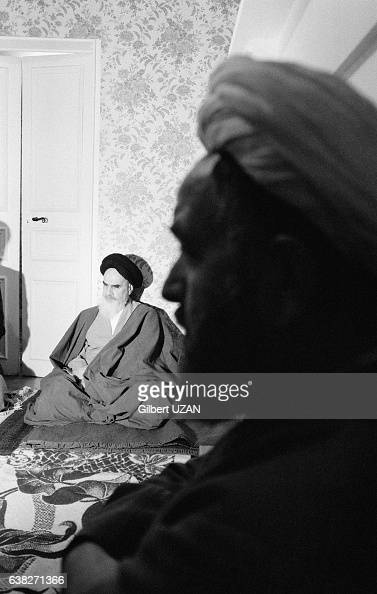 Non Muslim Perspective On The Revolution Of Imam Hussain: Khomeini Pontchartrain Stock Photos And Pictures