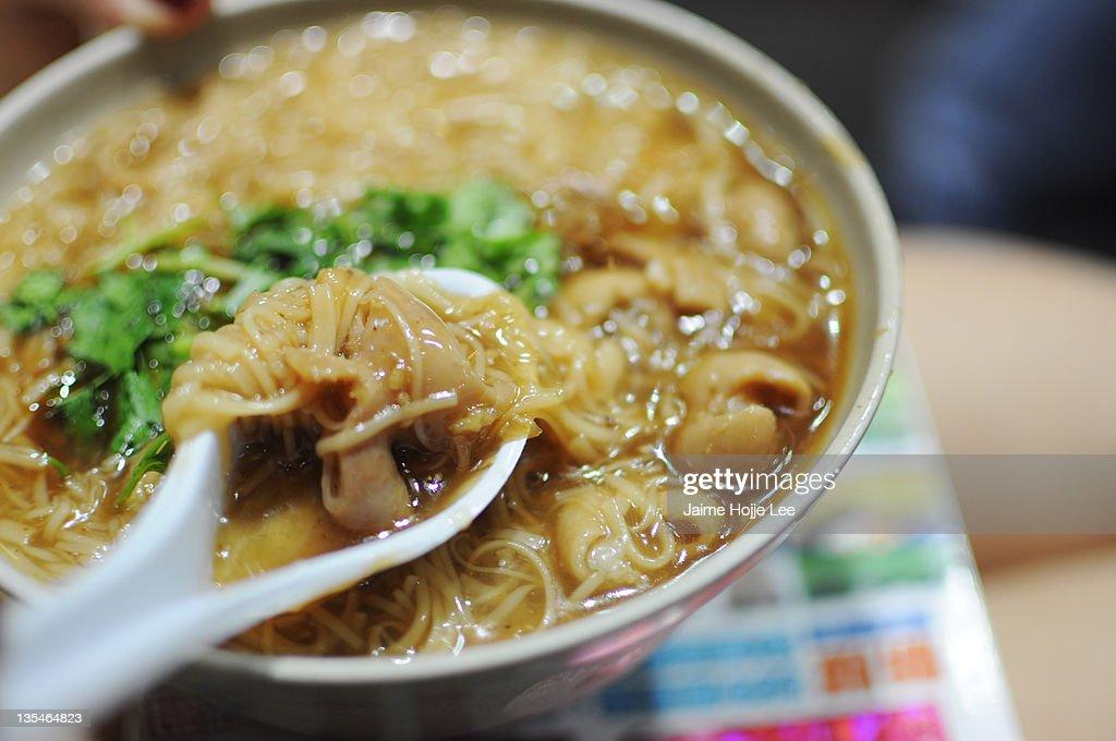 Ay-chung flour-rice noodle : Stock Photo