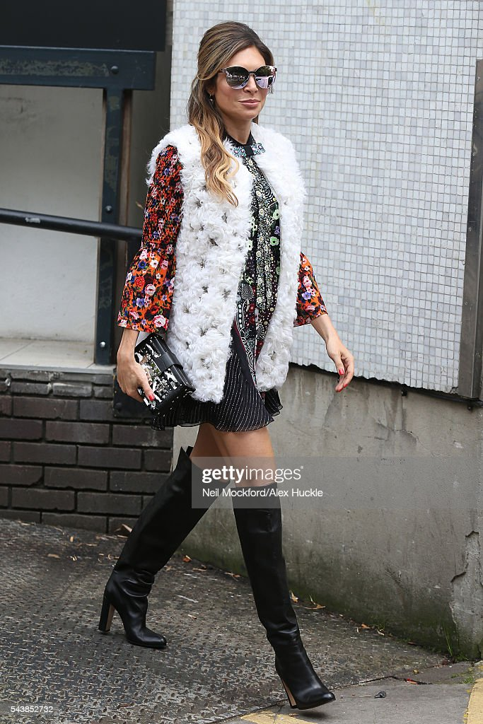 <a gi-track='captionPersonalityLinkClicked' href=/galleries/search?phrase=Ayda+Field&family=editorial&specificpeople=2305157 ng-click='$event.stopPropagation()'>Ayda Field</a> seen at the ITV Studios after appearing on Loose Women on June 30, 2016 in London, England.