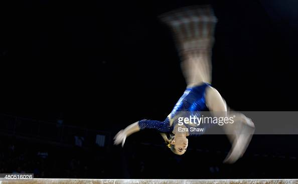 Artistic gymnastics team final and qualifications on day 2 of the