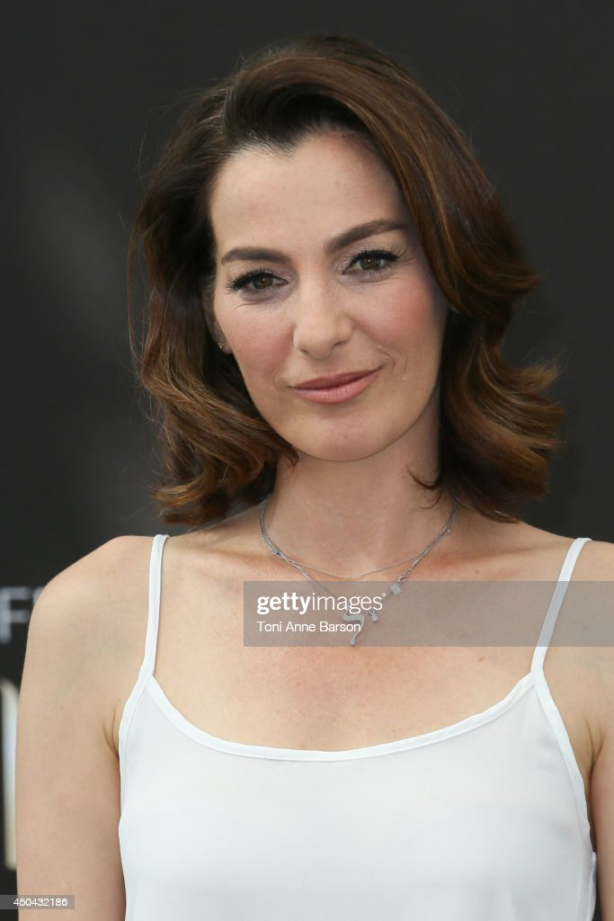 <a gi-track='captionPersonalityLinkClicked' href=/galleries/search?phrase=Ayelet+Zurer&family=editorial&specificpeople=4145060 ng-click='$event.stopPropagation()'>Ayelet Zurer</a> attends 'Hostages' photocall at the Grimaldi Forum on June 11, 2014 in Monte-Carlo, Monaco.