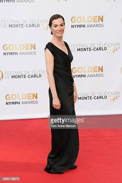 Ayelet Zurer attends the Closing Ceremony and Golden Nymph Awards of the 54th Monte Carlo TV Festival on June 11 2014 in MonteCarlo Monaco