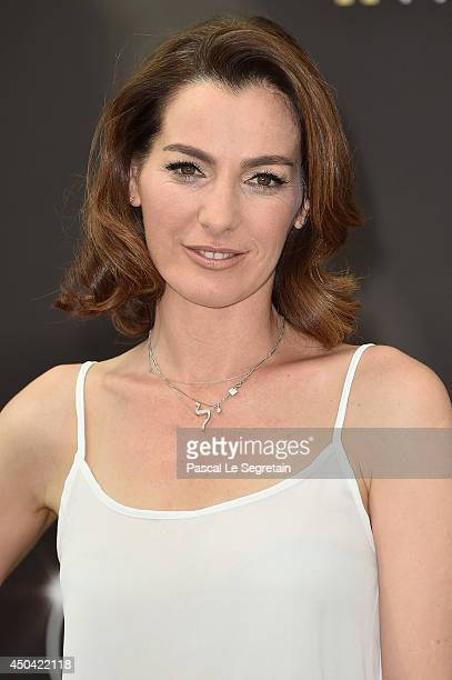 Ayelet Zurer poses during a photocall for the TV Show ' Hostages ' as part of the 54th MonteCarlo Television Festival on June 11 2014 in MonteCarlo...