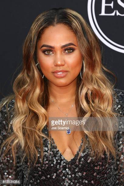 Ayesha Curry arrives at the 2017 ESPYS at Microsoft Theater on July 12 2017 in Los Angeles California