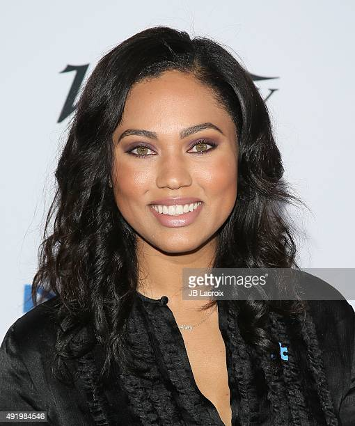Ayesha Curry attends the Autism Speaks to Los Angeles celebrity chef gala held at the Barker Hangar on October 8 2015 in Santa Monica California