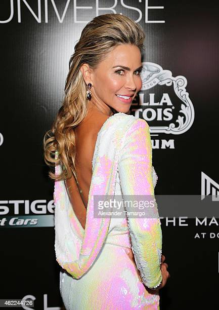 Aylin Mujica attends the Venue Magazine Official Miss Universe after party at Trump National Doral on January 25 2015 in Doral Florida