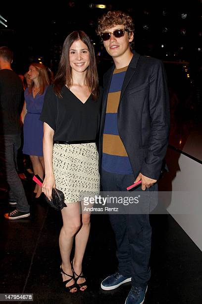 Aylin Tezel and Tim Bendzko arrive for the Michalsky Style Nite 2012 during MercedesBenz Fashion Week Berlin Spring/Summer 2013 at Tempodrom on July...