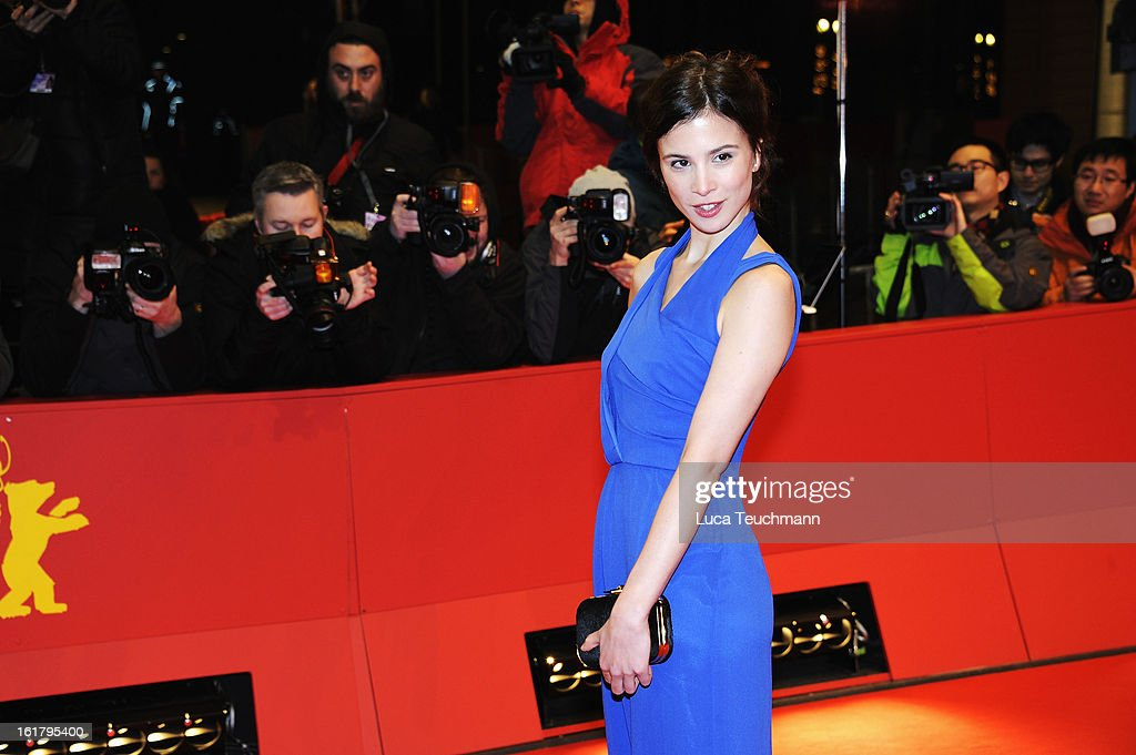 Aylin Tezel attends the Closing Ceremony of the 63rd Berlinale International Film Festival at Berlinale Palast on February 14, 2013 in Berlin, Germany.