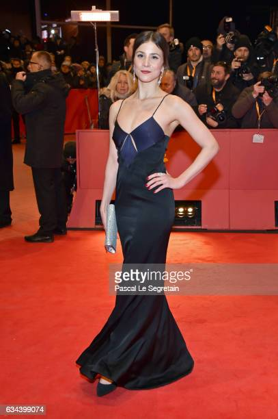 Aylin Tezel attends the 'Django' premiere during the 67th Berlinale International Film Festival Berlin at Berlinale Palace on February 9 2017 in...