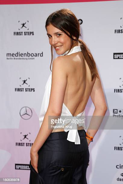 Aylin Tezel attends the 'First Step Awards 2012' in the Stage Theater Potsdamer Platz on August 20 2012 in Berlin Germany