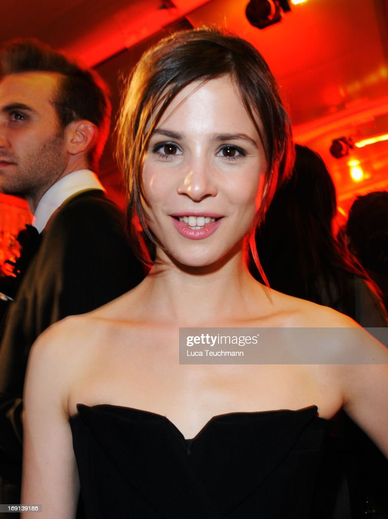 <a gi-track='captionPersonalityLinkClicked' href=/galleries/search?phrase=Aylin+Tezel&family=editorial&specificpeople=2348122 ng-click='$event.stopPropagation()'>Aylin Tezel</a> attends the German Films reception during the 66th Annual Cannes Film Festival at the Majestic Beach on May 20, 2013 in Cannes, France.