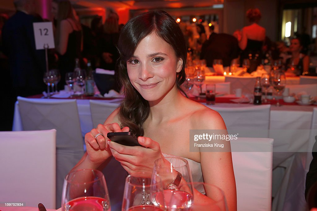 Aylin Tezel attends the Germany Filmball 2013 on January 19, 2013 in Munich, Germany.