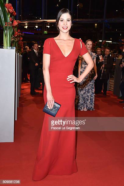 Aylin Tezel attends the 'Hail Caesar' premiere during the 66th Berlinale International Film Festival Berlin at Berlinale Palace on February 11 2016...