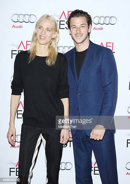 Aymeline Valade and Gaspard Ulliel arrive at AFI FEST 2014 Presented By Audi 'Saint Laurent' special screening held at Dolby Theatre on November 11...