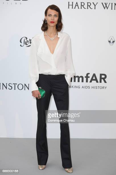 Aymeline Valade arrives at the amfAR Gala Cannes 2017 at Hotel du CapEdenRoc on May 25 2017 in Cap d'Antibes France