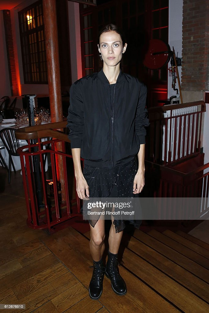 Dinner at Alaia Galerie - Paris Fashion Week Womenswear Spring/Summer 2017 : News Photo