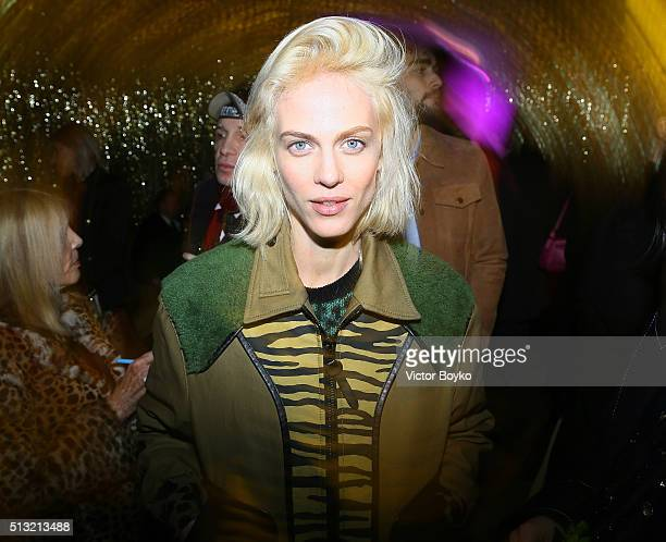 Aymeline Valade attends Prom 2016 Party hosted by Coach for the Paris Flagship opening as part of the Paris Fashion Week Womenswear Fall/Winter...