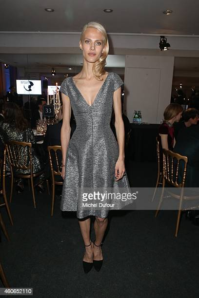 Aymeline Valade attends the Annual Charity Dinner Hosted By The AEM Association Children Of The World For Rwanda At Espace Pierre Cardin In Paris at...