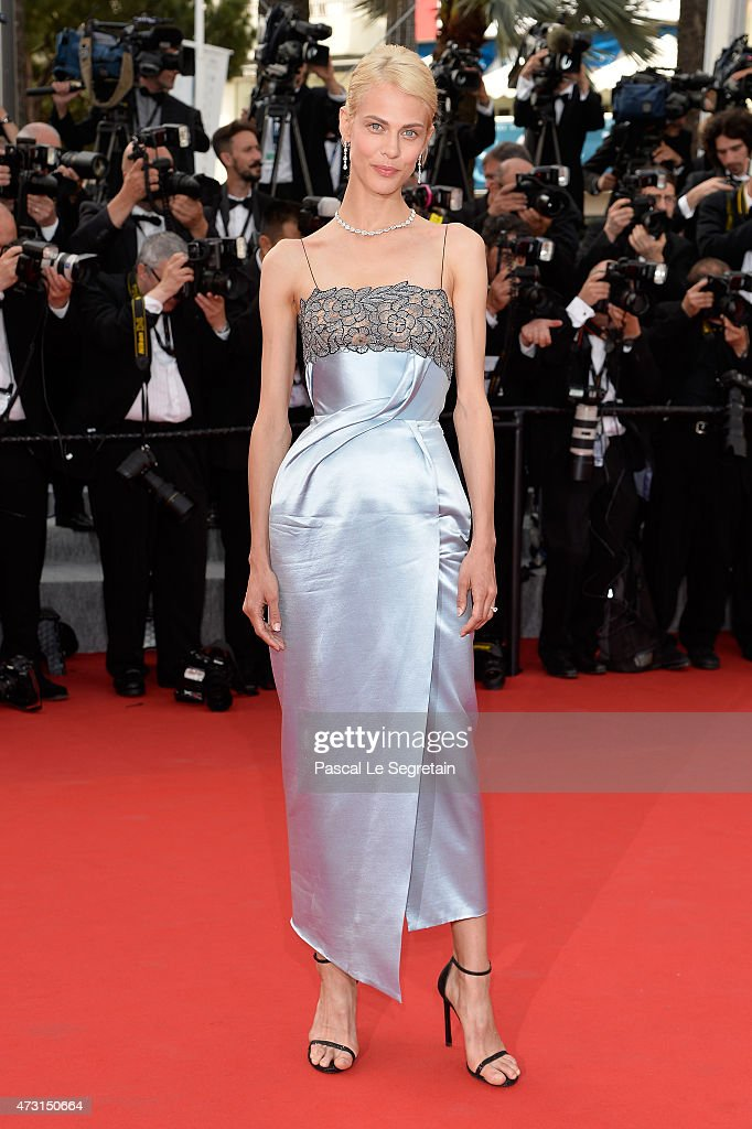 Aymeline Valade attends the opening ceremony and premiere of 'La Tete Haute' during the 68th annual Cannes Film Festival on May 13 2015 in Cannes...
