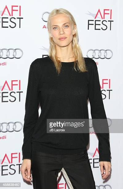 Aymeline Valade attends the 'Saint Laurent' special screening during AFI FEST 2014 presented by Audi at the Dolby Theater on November 11 2014 in...