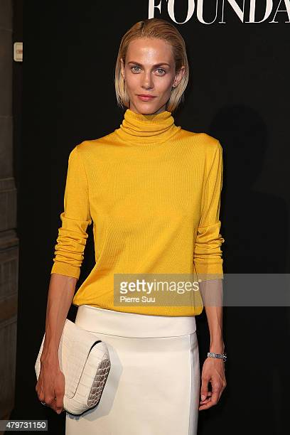 Aymeline Valade attends the Vogue Paris Foundation Gala at Palais Galliera on July 6 2015 in Paris France