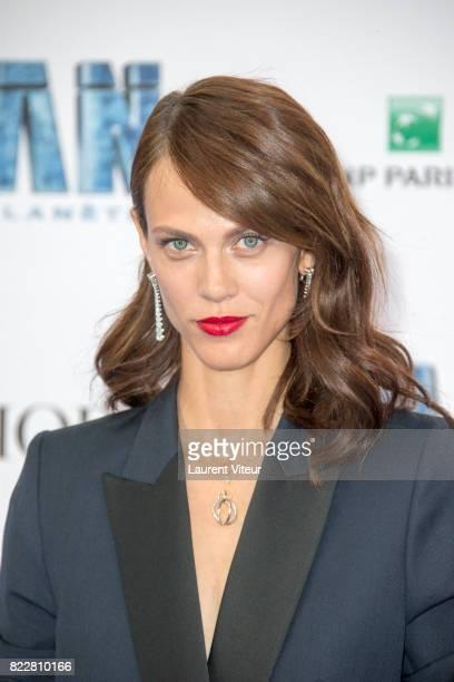 Aymeline Valade attends 'Valerian et la Cite desMille Planetes' Paris Premiere at La Cite Du Cinema on July 25 2017 in SaintDenis France