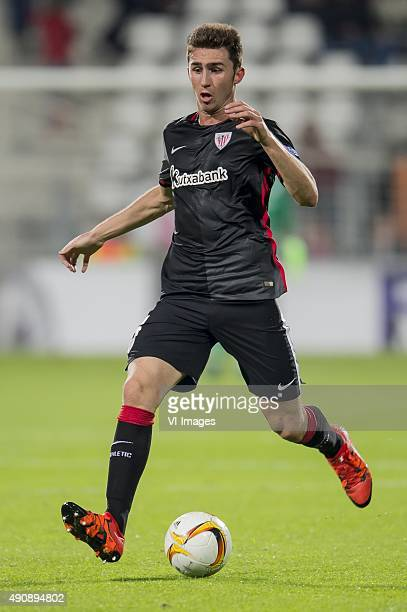 Aymeric Laporte of Athletic de Bilbao during the UEFA Europa League match between AZ Alkmaar and Athletic de Bilbao on October 1 2015 at the AFAS...
