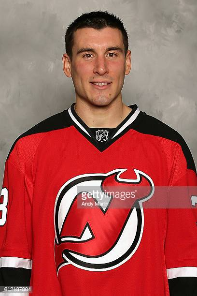 Ayohann Auvitu of the New Jersey Devils poses for his official headshot for the 20162017 season on September 22 2016 at Prudential Center in Newark...