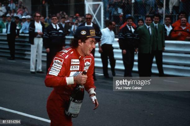 Ayrton Senna Grand Prix of Monaco Monaco 23 May 1993