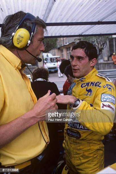 Ayrton Senna Grand Prix of Monaco Monaco 31 May 1987