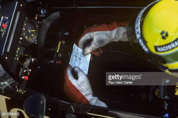 Ayrton Senna Grand Prix of Spain Jerez 13 April 1986
