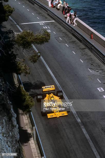 Ayrton Senna LotusHonda 99T Grand Prix of Monaco Monaco 31 May 1987