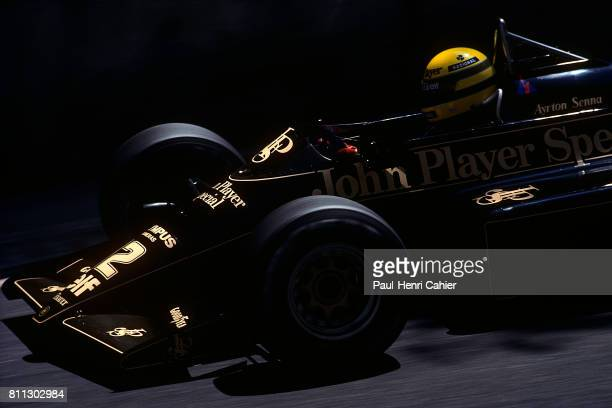 Ayrton Senna LotusRenault 97T Grand Prix of Monaco Monaco 19 May 1985