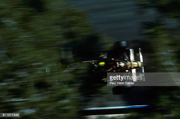 Ayrton Senna LotusRenault 98T Grand Prix of Monaco Monaco 11 May 1986
