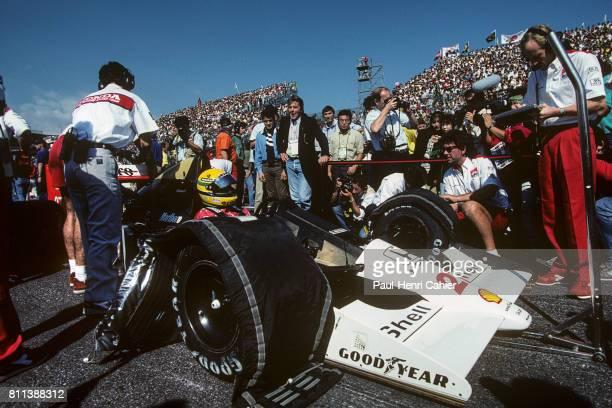 Ayrton Senna McLarenHonda MP4/5B Grand Prix of Japan Suzuka 21 October 1990