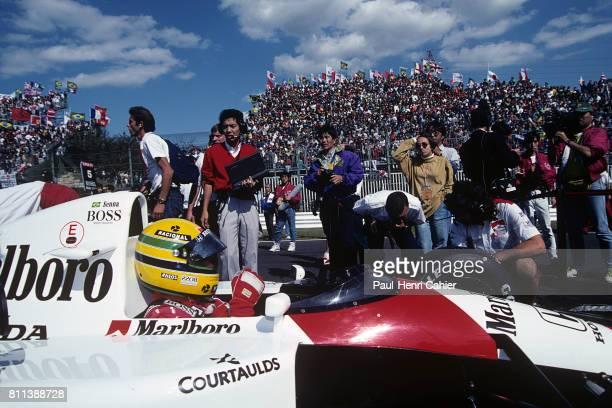 Ayrton Senna McLarenHonda MP4/6 Grand Prix of Japan Suzuka 20 October 1991