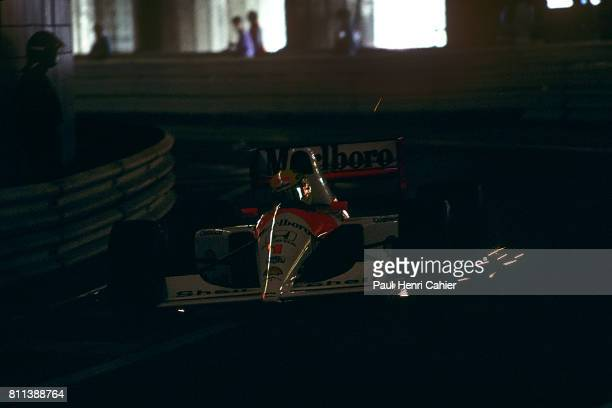 Ayrton Senna McLarenHonda MP4/6 Grand Prix of Monaco Monaco 12 May 1991