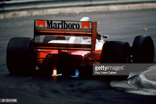 Ayrton Senna McLarenHonda MP4/7A Grand Prix of Monaco Monaco 31 May 1992