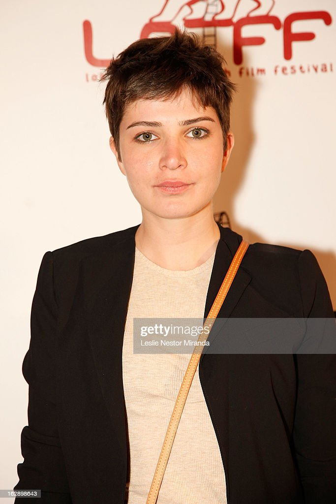Aysel Pinar attends The 2nd Annual Los Angeles Turkish Film Festival Opening Reception at the Egyptian Theatre on February 28, 2013 in Hollywood, California.