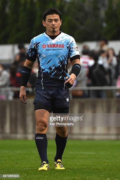 Ayumu Goromaru of Yamaha Motor Jubilo after the match during the Japan Rugby Top League match between Toyota Motor Verblitz v Yamaha Motor Jubilo at...